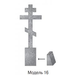 Памятник серый  стандарт Модель 16