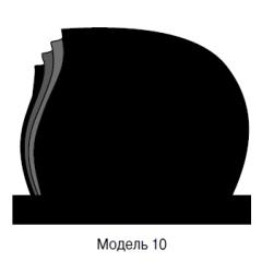 Памятник черный семейный Модель 10