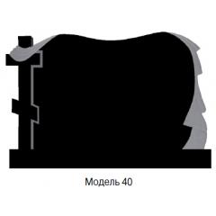 Памятник черный семейный Модель 40