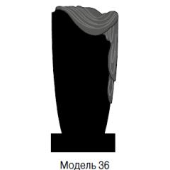 Памятник черный стандарт Модель 36