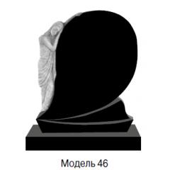 Памятник черный стандарт Модель 46