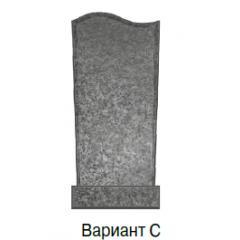 Памятник серый эконом Вариант C