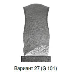 Памятник темно-серый стандарт Вариант 27