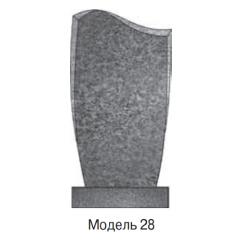 Памятник темно-серый стандарт Вариант 28