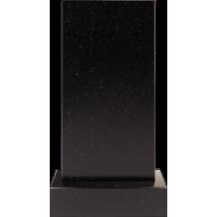 Памятник черный гранит прямой