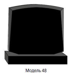 Памятник черный семейный Модель 48