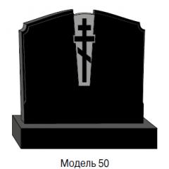Памятник черный семейный Модель 50