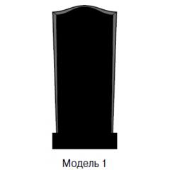 Памятник черный стандарт Модель 1