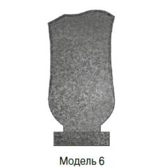 Памятник серый стандарт Модель 6
